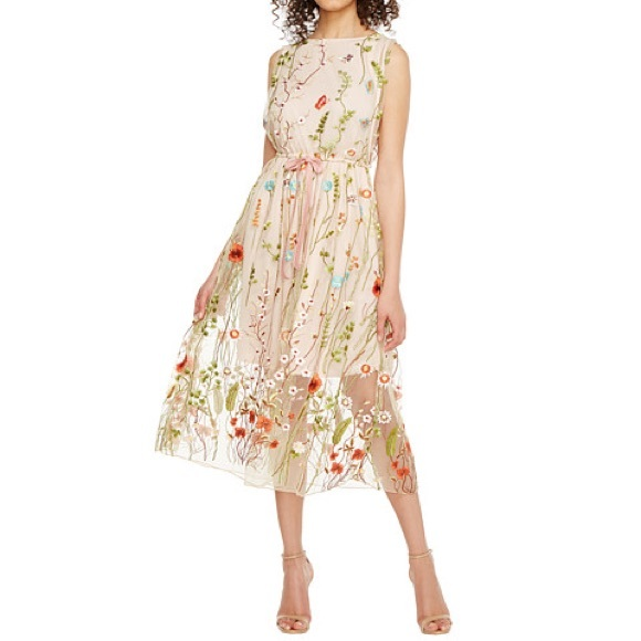 cc0ebd6d936 Eva Franco Dresses   Skirts - Eva franco embroidered floral dress